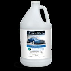 veggie wash sanitize disinfect car